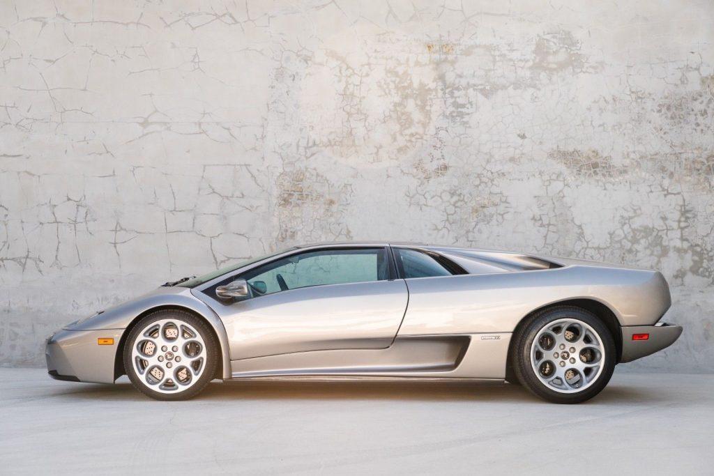 2001 Lamborghini Diablo 6.0, 6,640 Original Miles, Grigio